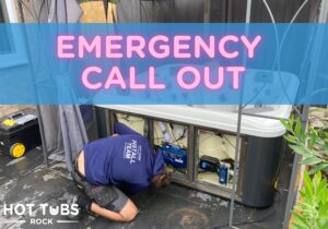 Hot tub emergency call out