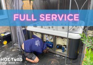 Hot tub full service